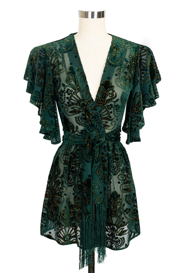 Pin Up Robe  - Baroque Velvet