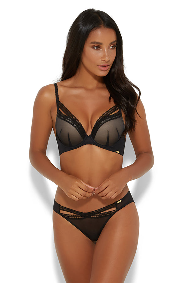 Gossard - Sheer Seduction Padded Plunge Bra