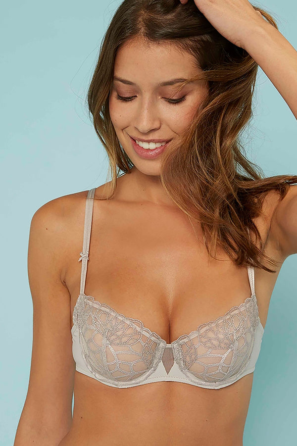 Simone Perele Java Sheer Demi Bra