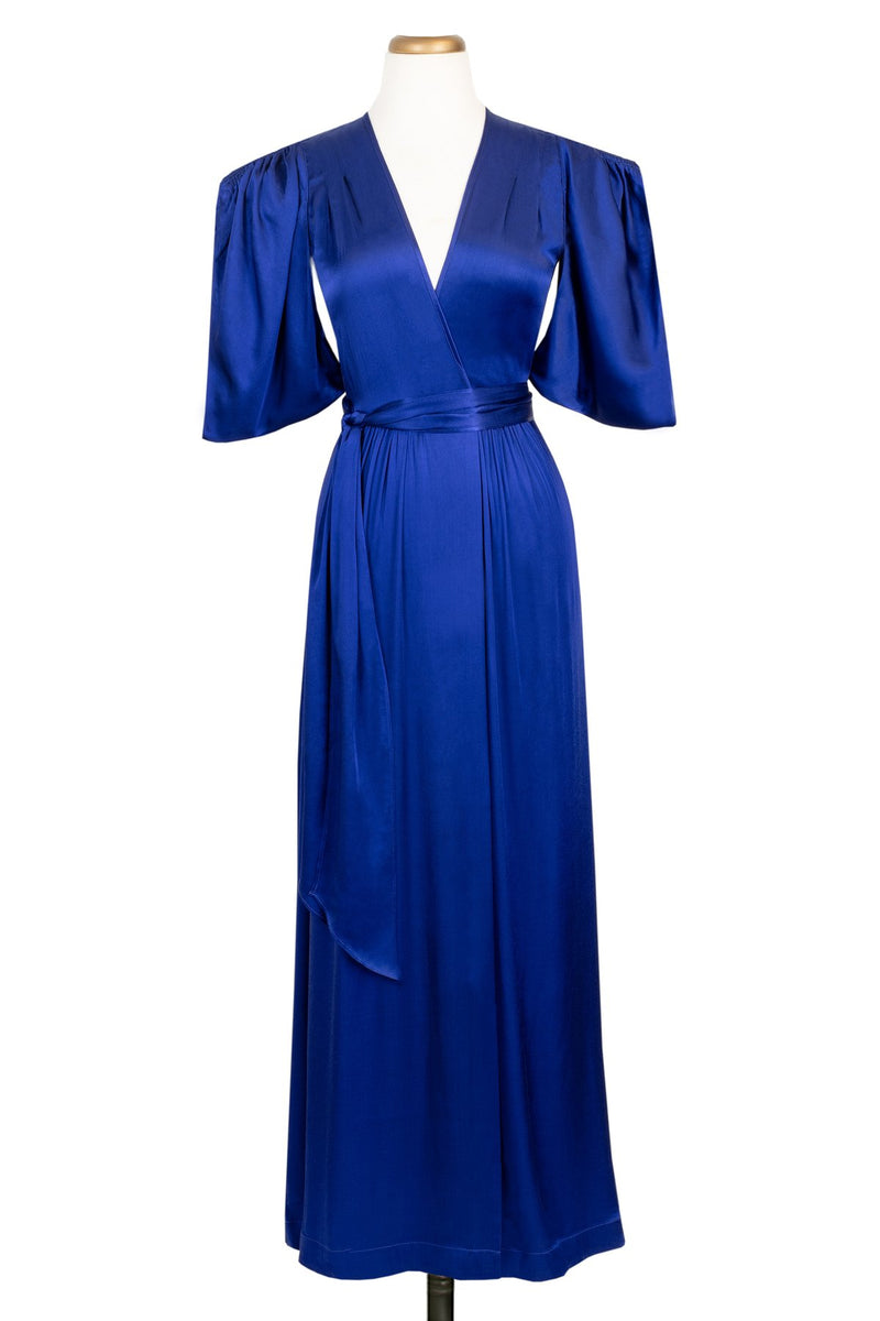 Taylor Wrap Robe - Royalty Satin