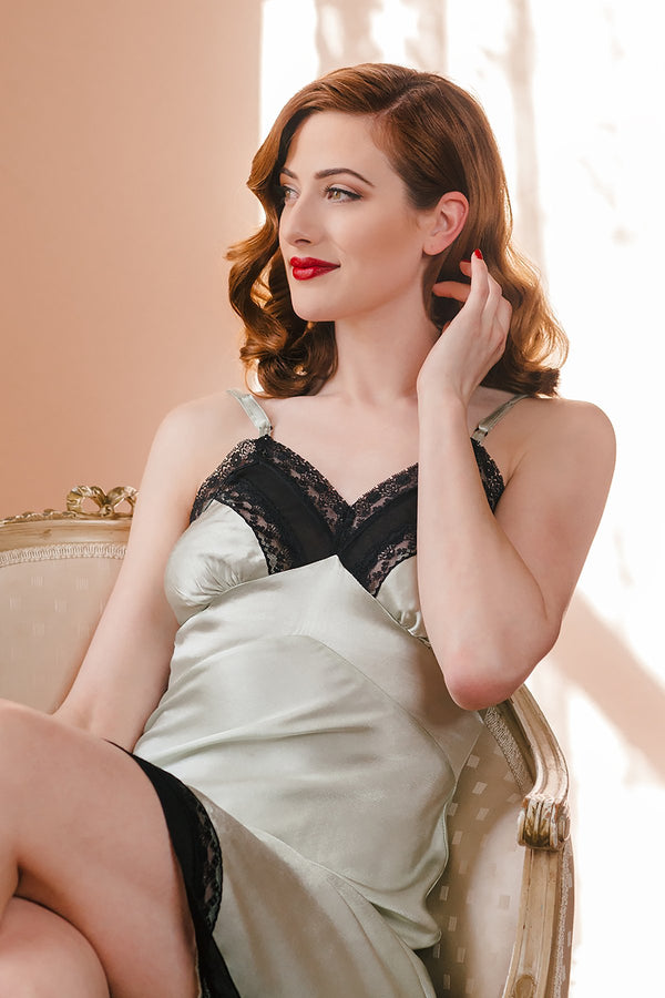 Viv Slip Dress - Forties Follies