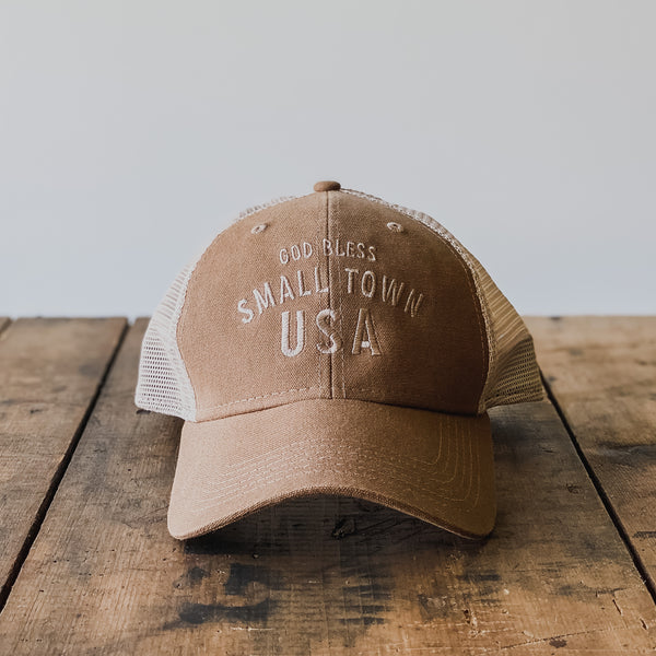 GOD BLESS SMALL TOWN USA - HAT