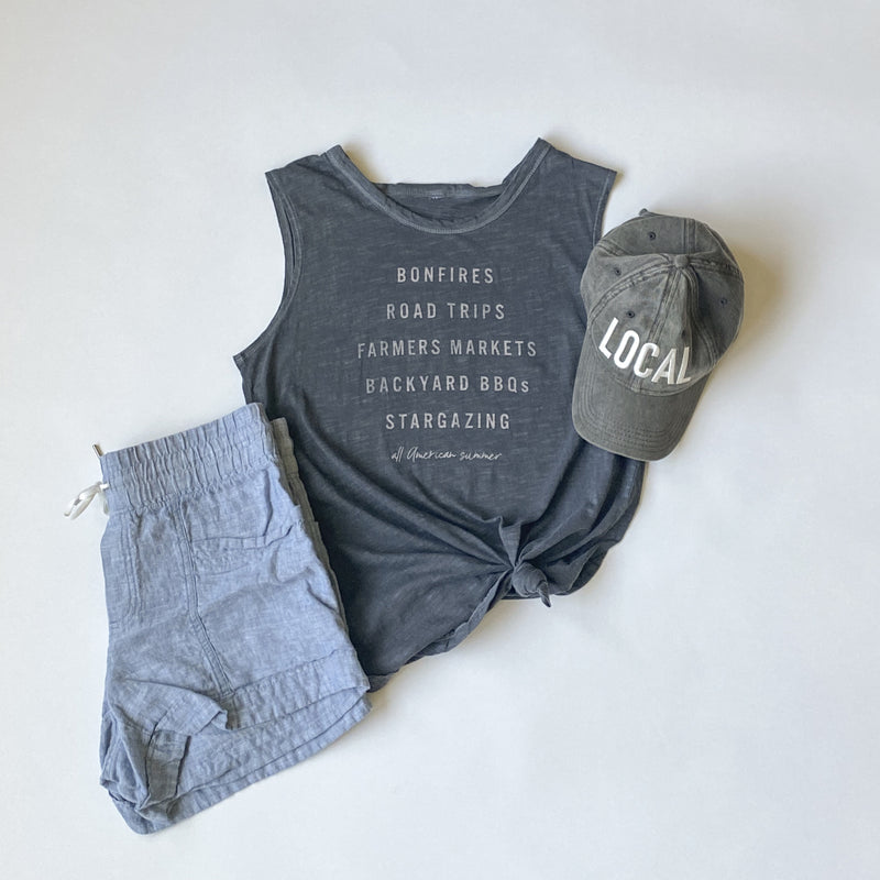 ALL AMERICAN SUMMER TANK IN COAL