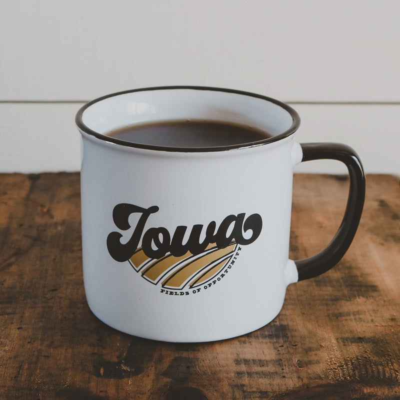 FIELDS OF OPPORTUNITY - IOWA - MUG