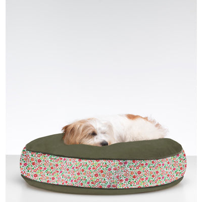 Adelina Pink Liberty Print Dog Bed