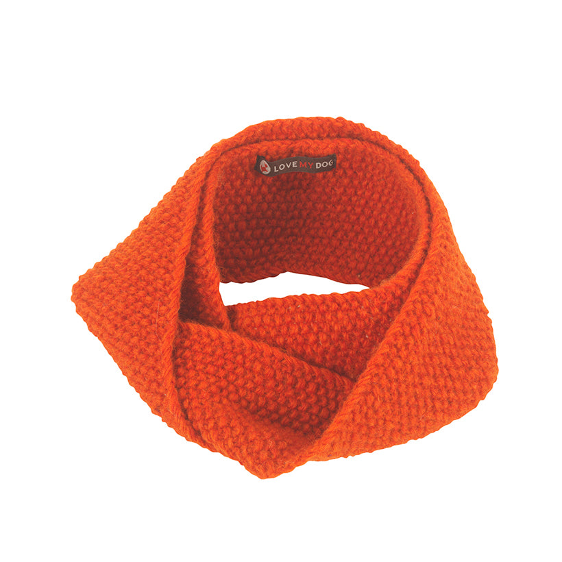 Stepney Dog Snood - Orange