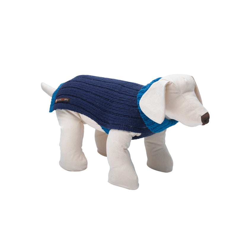 Rydon Indigo Dog Jumper