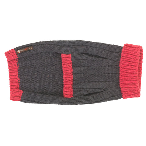 Rydon Pink/Grey Dog Jumper