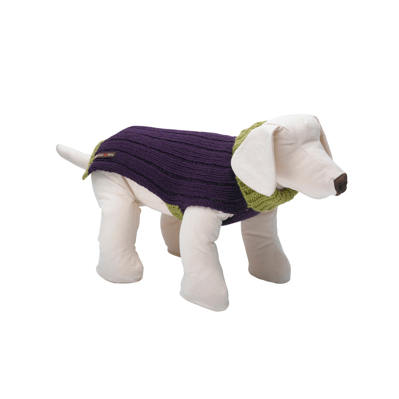Rydon Purple Dog Jumper