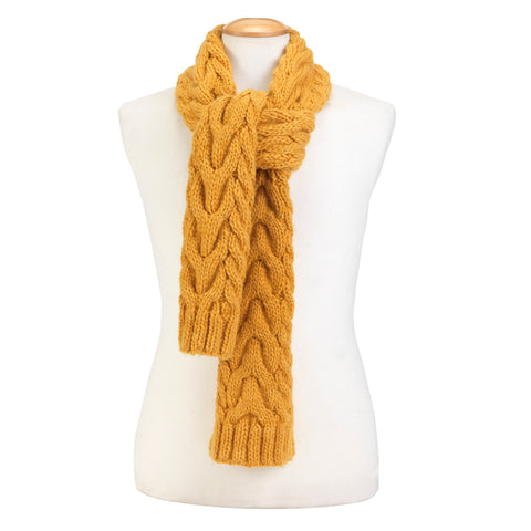Wilmot Yellow Scarf For Humans