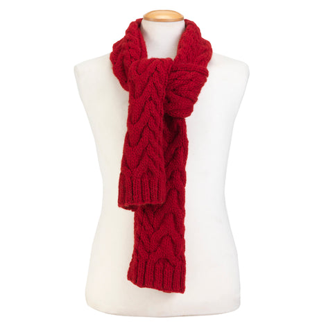 Wilmot Scarf Red For Humans