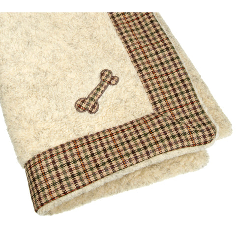 Sidworth Tweed Dog Blanket