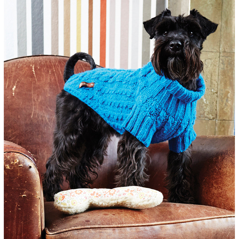 Wilmot Blue Dog Jumper