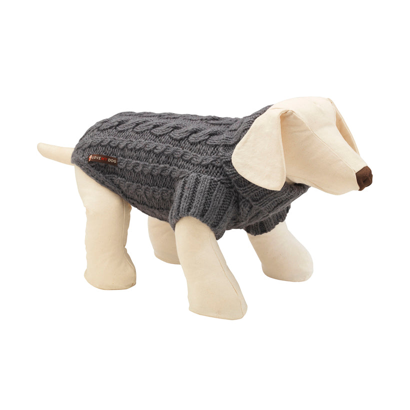 Wilmot Grey Dog Jumper