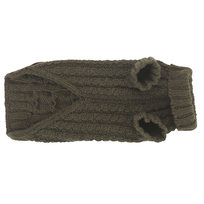 Wilmot Khaki Dog Jumper