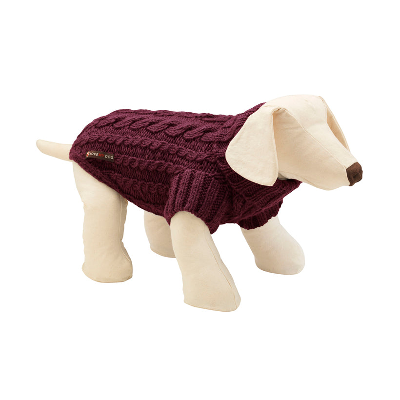 Wilmot Plum Dog Jumper