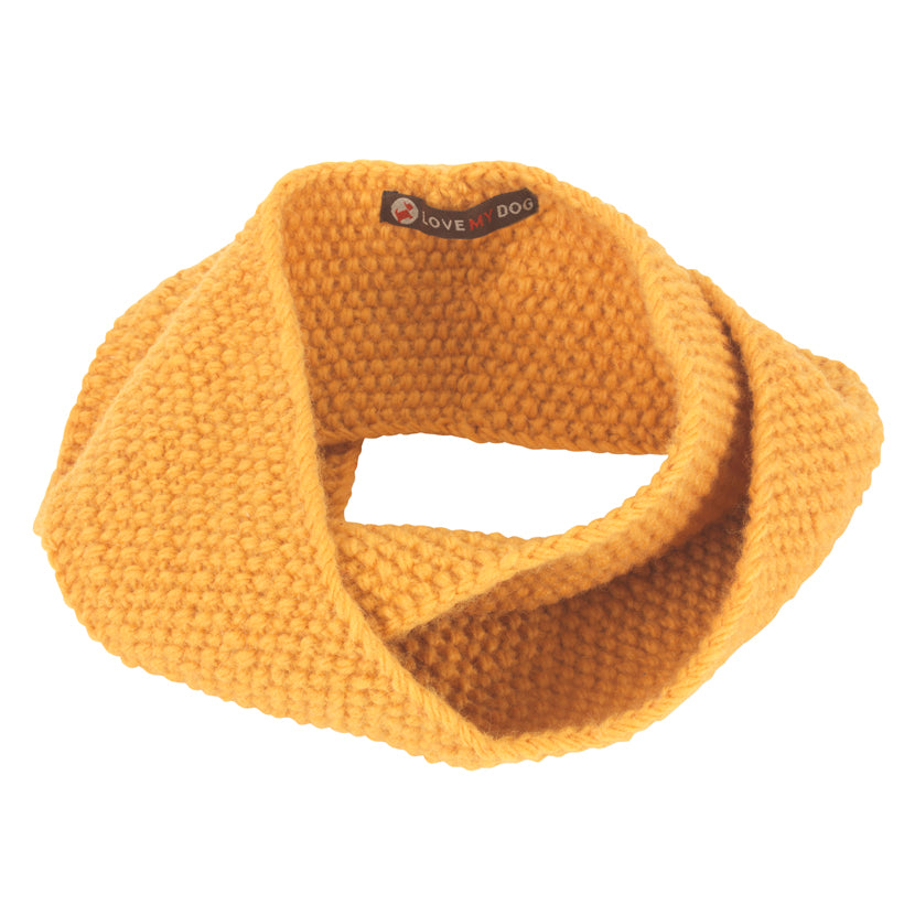 Stepney Dog Snood - Yellow