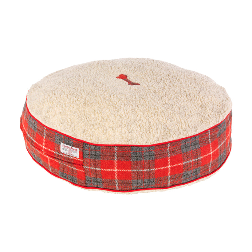 Hoxton Tartan Harris Tweed Bed