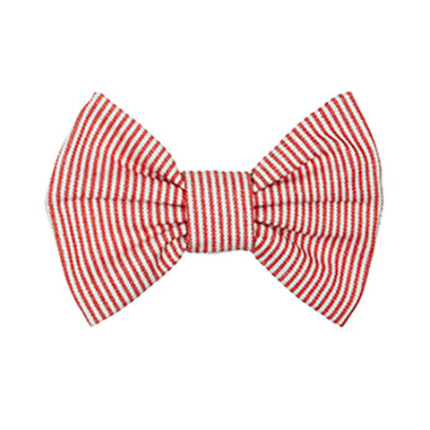 Bow Wow Dog Bow Tie - Sutton Red