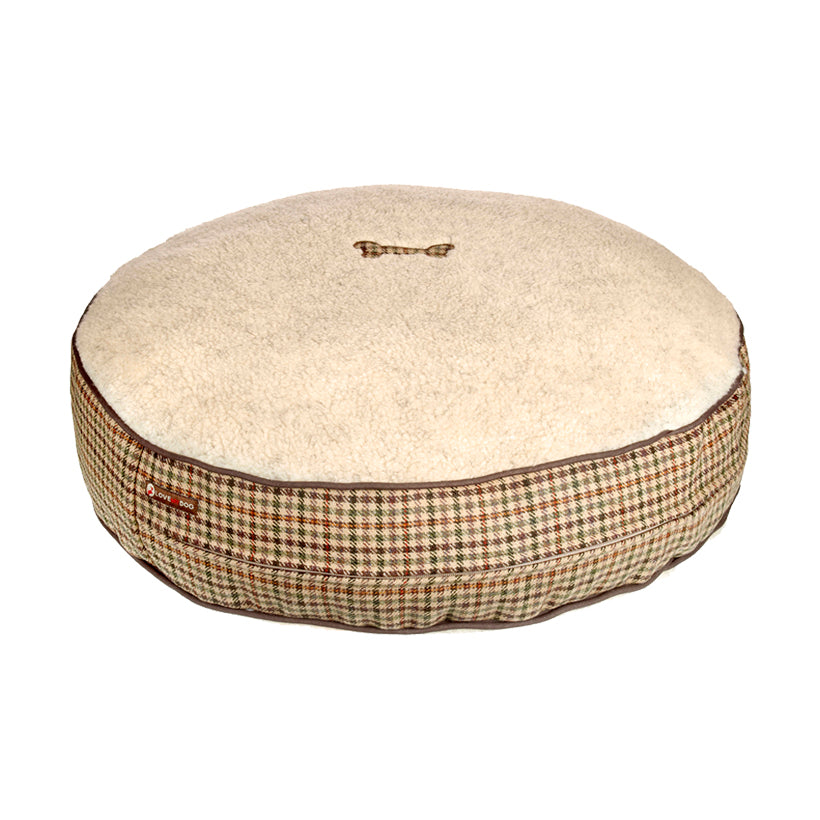 Sidworth Tweed Dog Bed