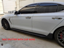 Load image into Gallery viewer, [M&S] Side Splitter (Opt. Cup Wing)| 2019+ Genesis G70