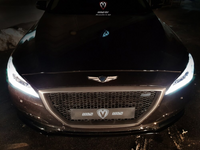 [M&S] Front Grille (ABS) | 2016-2020 Genesis G80