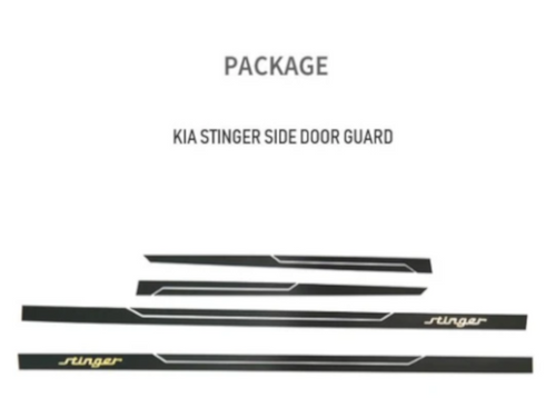 [Convoy] Side Door Guard | 2017+ Kia Stinger