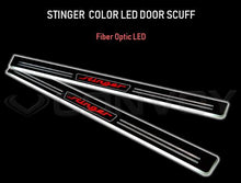 Load image into Gallery viewer, [Convoy] LED Door Scuff Plate | 2017+ Kia Stinger