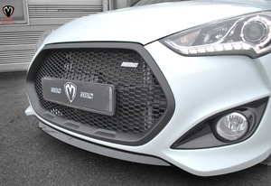 [M&S] Front Grille | 2012-2016 Hyundai Veloster Turbo (FS)