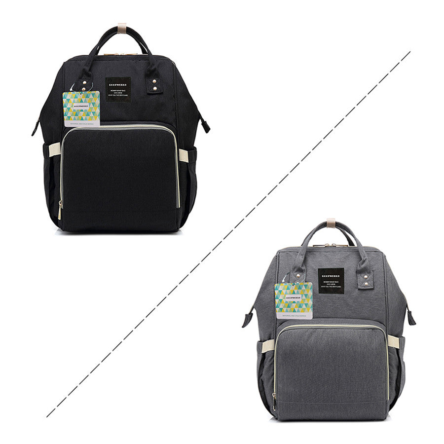 12b782f613a94 ... Load image into Gallery viewer, NaiBei Mummy Maternity Diaper Bag Large  Capacity Baby Bag Travel ...