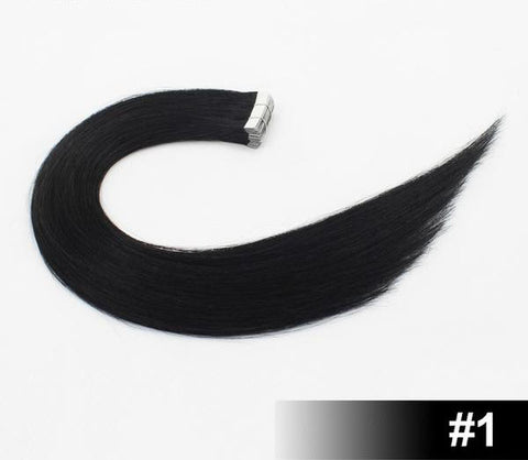 "Image of 20"" European Remy Tape In Hair Extensions - SilkyHairShop.com"