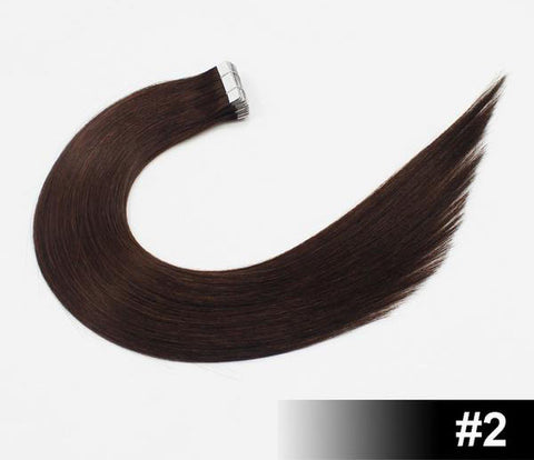 "16"" European Remy Tape In Hair Extensions - SilkyHairShop.com"