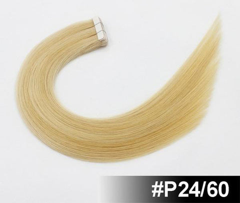 "Image of 18"" European Remy Tape In Hair Extensions - SilkyHairShop.com"