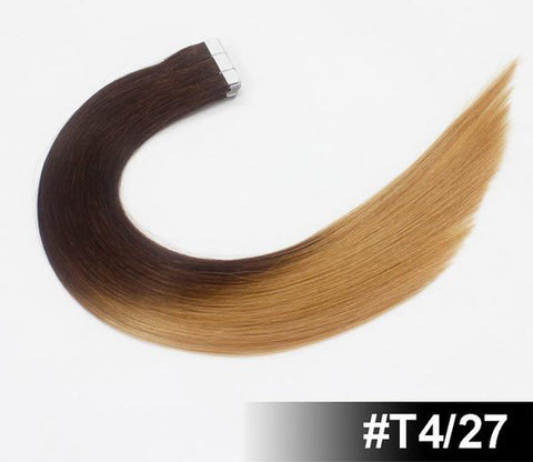 "20"" European Remy Tape In Hair Extensions - SilkyHairShop.com"