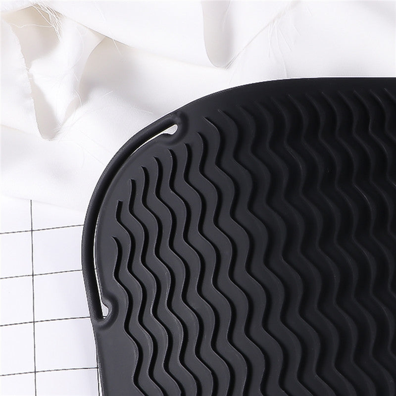 Anti-slip Silicone Heat Resistant Mat for Straightener - SilkyHairShop.com