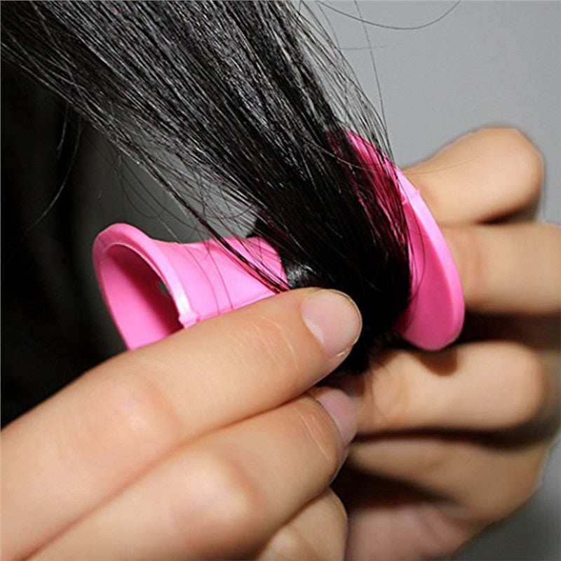 No Clip Silicone Hair Curlers 20pcs set - SilkyHairShop.com