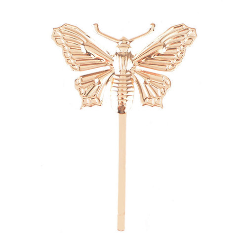 Butterfly Hairpin 1pc - SilkyHairShop.com