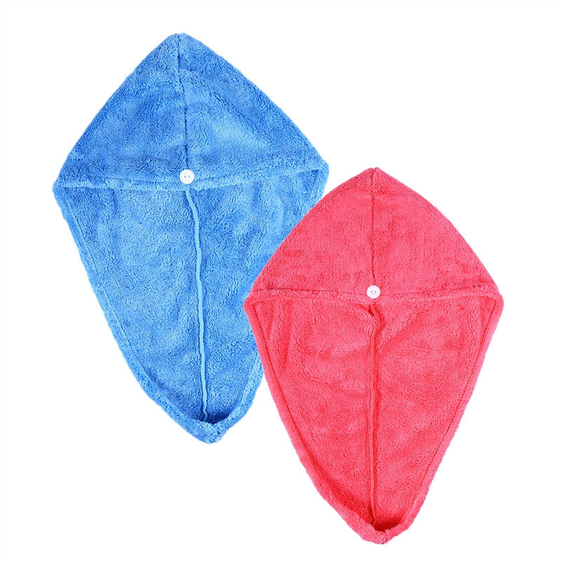 Ultra Water Absorbent Turban 2pcs - SilkyHairShop.com
