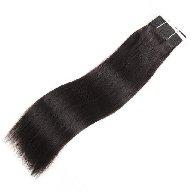 Brazilian Straight Pre-Colored Wefts - Many Colors - SilkyHairShop.com