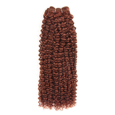 Image of Brazilian Curly Pre-Colored Wefts - 16 inch - SilkyHairShop.com