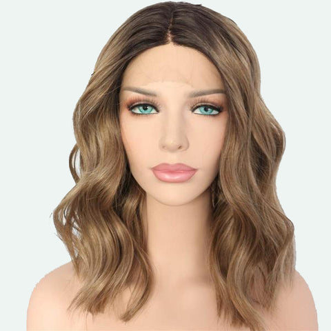 Ayesha Water Wave Ombre Lace Front Long Bob - 2 colors - SilkyHairShop.com