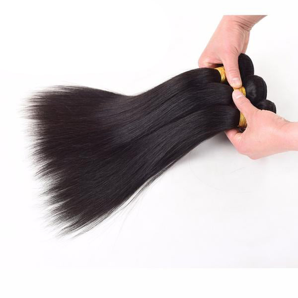 Brazilian Straight Human Hair 4pcs. - SilkyHairShop.com
