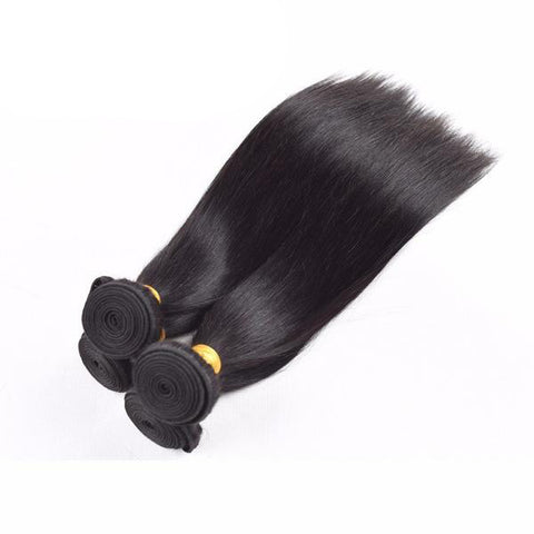 Image of Brazilian Straight Human Hair 4pcs. - SilkyHairShop.com