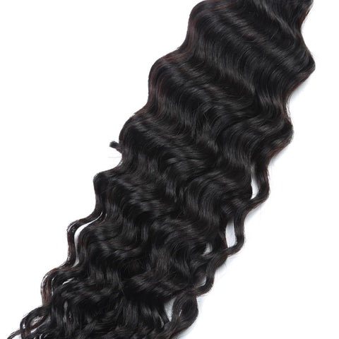 Image of Brazilian Deep Wave Human Hair 4pcs. - SilkyHairShop.com