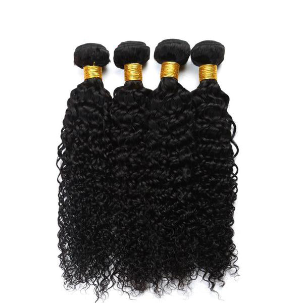 Brazilian Kinky Curly Human Hair 4pcs. - SilkyHairShop.com