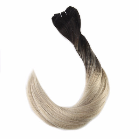 Balayage Remy Double Weft Human Hair Extensions