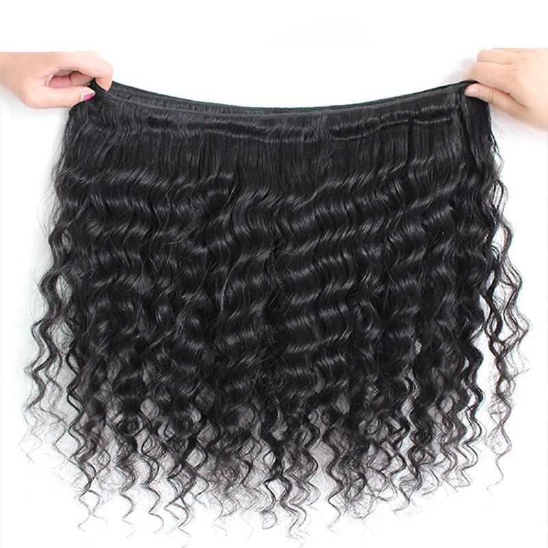 Peruvian Deep Wave Virgin Human Hair 1pc. - SilkyHairShop.com