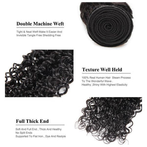 Peruvian Kinky Curly Virgin Human Hair 1pc.