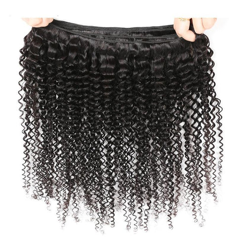 Peruvian Kinky Curly Virgin Human Hair 1pc. - SilkyHairShop.com