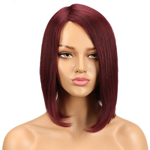 Chandra Human Hair Wig - SilkyHairShop.com